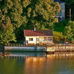 Location de vacance avec étang dans le Gers